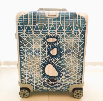 Hand-painted Rimowa luggages